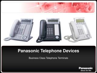 Panasonic Telephone Devices