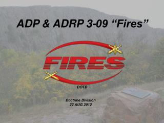 "ADP & ADRP 3-09 ""Fires"""