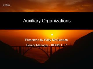 Auxiliary Organizations