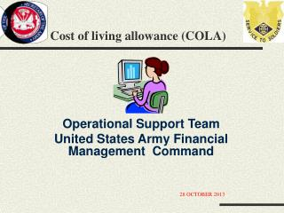 Cost of living allowance (COLA)