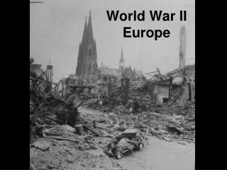 World War II Europe