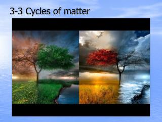 3-3 Cycles of matter