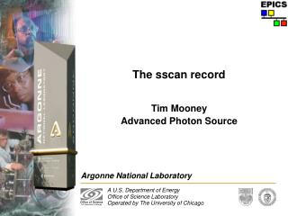The sscan record