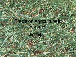 Precision Agriculture in Forages