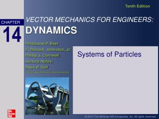 Systems of Particles
