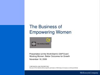 The Business of Empowering Women