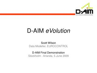 D-AIM  eVolution