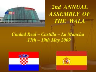2nd  ANNUAL ASSEMBLY  OF  THE  WALA