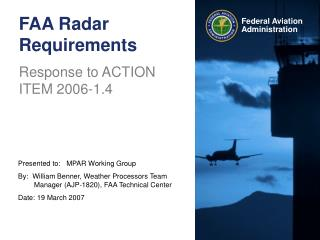 FAA Radar Requirements