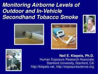 Monitoring Airborne Levels of Outdoor and In-Vehicle Secondhand Tobacco Smoke
