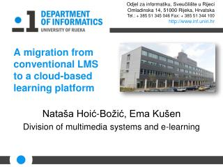 A migration from conventional LMS to a cloud-based learning platform