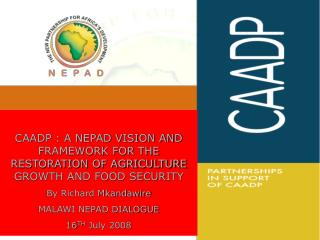 CAADP - WHAT IT SET TO ACHIEVE?