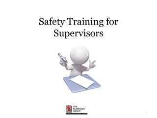 Safety Training for Supervisors