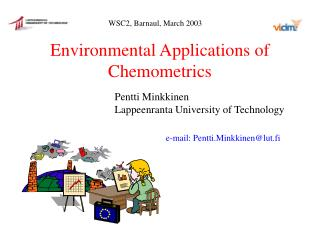 Environmental Applications of Chemometrics