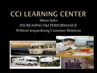 CCI LEARNING CENTER