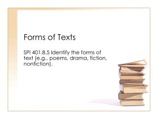 Forms of Texts