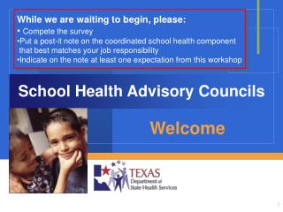 School Health Advisory Councils