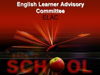 English Learner Advisory Committee