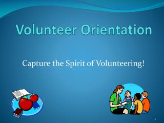 Capture the Spirit of Volunteering!