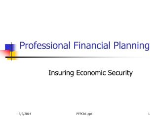 Professional Financial Planning