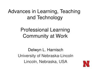Professional Learning Community at Work