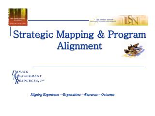 Strategic Mapping & Program Alignment