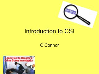 Introduction to CSI