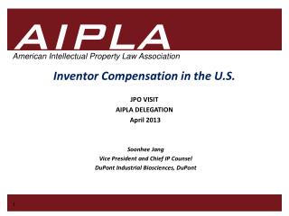 Inventor Compensation in the U.S.