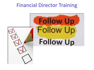Financial Director Training