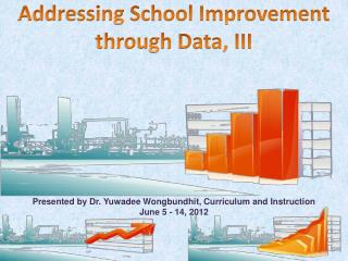 Addressing School Improvement through Data, III