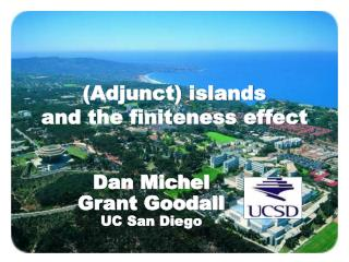 (Adjunct) islands and the finiteness effect