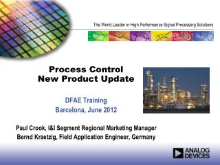 Process Control New Product Update