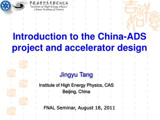 Introduction to the China-ADS project and accelerator design