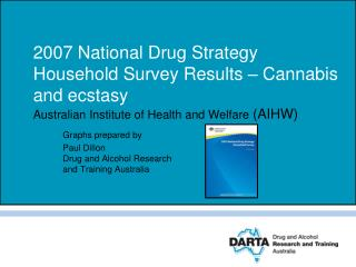 2007 National Drug Strategy Household Survey Results – Cannabis and ecstasy  Australian Institute of Health and Welfare