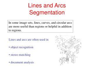Lines and Arcs Segmentation