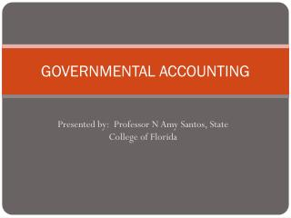 GOVERNMENTAL ACCOUNTING