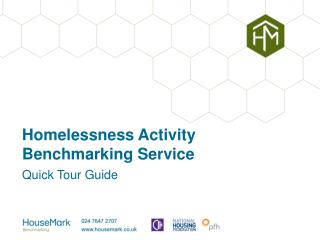 Homelessness Activity Benchmarking Service