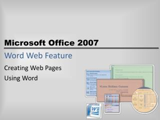 Word Web Feature