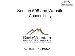 Section 508 and Website Accessibility