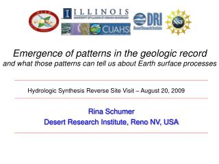 Emergence of patterns in the geologic record