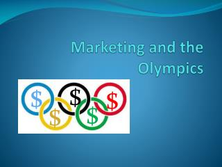 Marketing and the Olympics