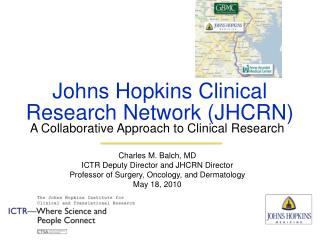 Johns Hopkins Clinical Research Network (JHCRN)