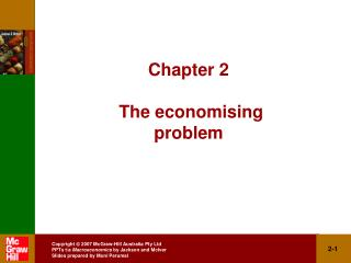 Chapter 2  The economising problem