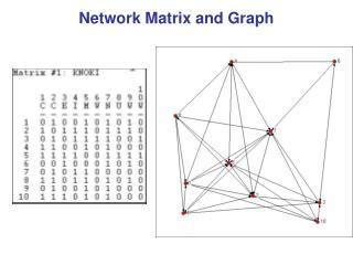 Network Matrix and Graph