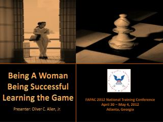 Being A Woman Being Successful Learning the Game