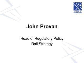 John Provan