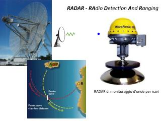 RADAR -  RA dio D etection  A nd  R anging
