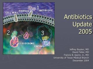 Antibiotics Update  2005