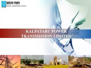 KALPATARU POWER TRANSMISSION LIMITED