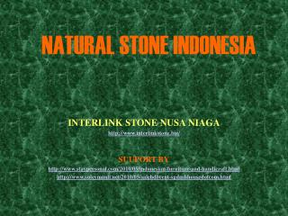 natural stone indonesia